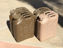 Military USGI 5 ga. FUEL Cans Jerry Gerry Can in Camp Pendleton, California