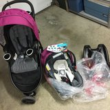 GRACO CK 35 Car Seat, Base, and Stroller READ in Travis AFB, California