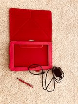 Tablet leather case, Rapid Charger and Stylus ALL for $20.00 in Fort Carson, Colorado