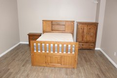Creekside Taffy 3 Pc Full Size-Captain's Bookcase Bedroom set in Spring, Texas