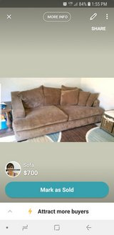 couch in Mayport Naval Station, Florida