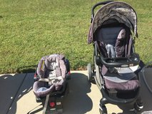 Graco click connect Stroller, Car seat, and Base in Fort Campbell, Kentucky