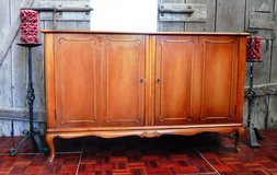 Very Nice Chippendale Sideboard Cabinet with Double Hinged Doors in Ramstein, Germany
