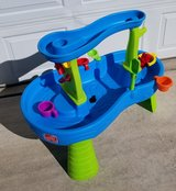 Step 2 Rain Showers Splash Pond Water Table in Fort Carson, Colorado
