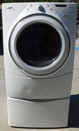 FRONT LOAD WHIRLPOOL DUET ELECTRIC DRYER in Camp Pendleton, California