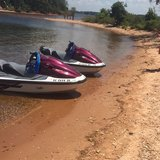 Jet skis in Fort Jackson, South Carolina