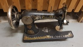 antique sewing machine by Singer from 1906 in bookoo, US