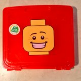 "Lego 12""x12"" Project Storage Case Red EUC in Travis AFB, California"