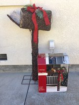 Animated mailbox in Travis AFB, California