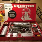 erector set 1950s in Tinley Park, Illinois