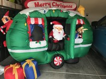 6 foot Inflatable Santa in RV in Nellis AFB, Nevada