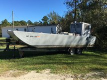 boat and trailer in Camp Lejeune, North Carolina