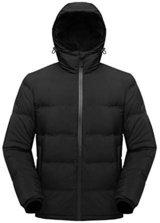 WANTED Mens 3X Hooded Winter Coat Black or Navy Blue Preferred in Plainfield, Illinois