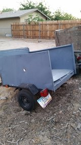 Small utility trailer in Yucca Valley, California
