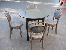 Table/Ice Cream Parlor Chairs in Aurora, Illinois