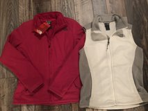 NEW North face jacket/fleece vest in Oceanside, California
