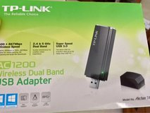 wi-if AC 1200 dual band adapter in Plainfield, Illinois
