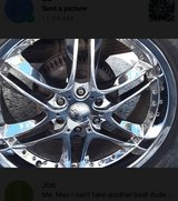 """22"""" rims w/tires in Pleasant View, Tennessee"""