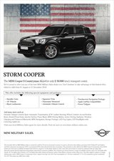 2019 - MINI Cooper S Countryman ALL4 – PROMOTION in Ramstein, Germany