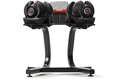 Bowflex SelectTech 552 Adjustable Dumbbells (Pair) With Stand. in Grafenwoehr, GE