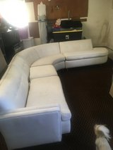 Mid century white sectional in Saint Petersburg, Florida