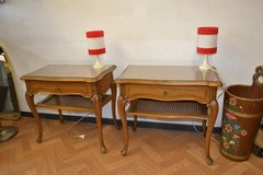 2 x  antique Chippendale Bed side table in Wiesbaden, GE