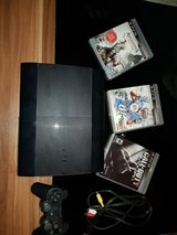 PS3 w/ Three Games. in Grafenwoehr, GE