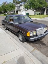 Mercedes Benz 240D in Oceanside, California