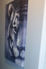 Large Tiger Picture Home Decor Painting in Warner Robins, Georgia