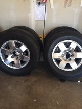 (5) FJ Cruiser/4 Runner Tires w/Rims - $125 (4) Plastic Dipped Rims - $200 (Lockport) in Tinley Park, Illinois