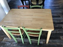 Pottery barn kids table and chairs in Joliet, Illinois