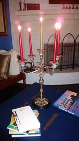 Beautiful heavy brass Candleholder in Bellaire, Texas