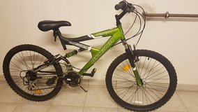 "Magna Charger 24"" Dual Suspension 21-speed Mountain Bike in Stuttgart, GE"