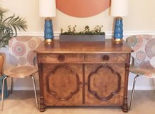 Vintage Tiger Oak Wood Buffet in Quantico, Virginia