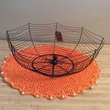 Halloween Wire Basket with Spider in Bolingbrook, Illinois