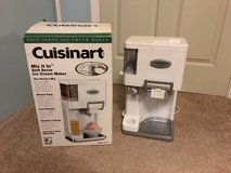 Cuisinart Soft Serve Ice Cream Maker in Lockport, Illinois