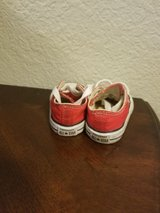 Baby Unisex Red Converse Size 2 in Fairfield, California