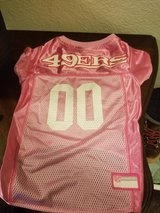 Size Large 49ers Jersey For Your Pet in Fairfield, California
