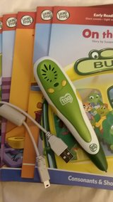 Leapfrog tag pen and books in Plainfield, Illinois