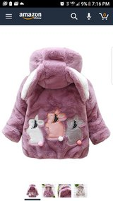 Toddler girl New warm Coat 3T in Fort Campbell, Kentucky