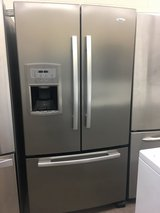 Whirlpool Stainless Steen French Door Refrigerator in Camp Pendleton, California