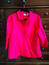 Chico's Size 3 Silk Top - Blouse - Jacket in CyFair, Texas