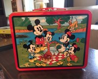 Mickey Mouse Lunch Tin in St. Charles, Illinois