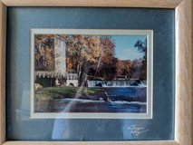 Covered Bridge Framed Photo in Naperville, Illinois
