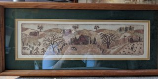 Pioneer Barn Framed Print in Naperville, Illinois