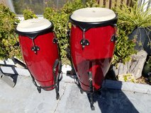 Pair of Conga drums in Travis AFB, California