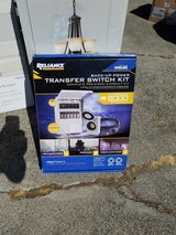 Back up Power transfer switch kit in Travis AFB, California