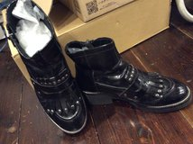ASH patent leather boots in Okinawa, Japan