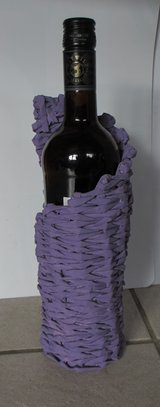 I MADE IT! - Bottle Basket Violet in Ramstein, Germany