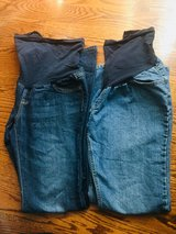 Maternity Blue Jeans Large in Fort Campbell, Kentucky